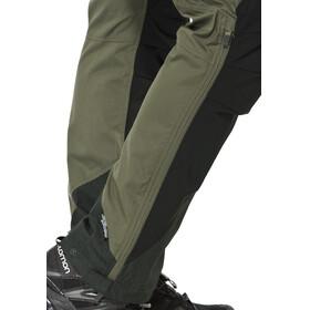 Lundhags Makke lange broek Heren zwart/olijf